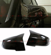 2013-2016 BMW F30 Sedan Direct Replacement M3 Style Carbon Fiber Mirror Covers