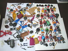 Geobra Bulk Lot *PLAYMOBIL* 30 Figures Toy Set Collection + Accessories & MORE