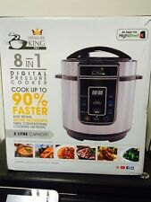 Pressure King Pro (3L) 8-in-1 Digital Pressure Cooker RRP £49.99