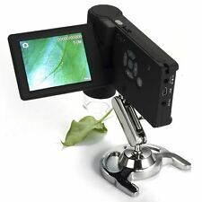 Digital Microscope 10-500x Magnification 5MP TFT LCD Display 8 LED Magnifier