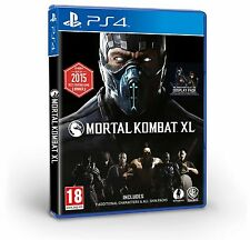 Mortal Kombat XL [PlayStation 4 PS4, Region Free, Arcade Fighting Fatality] NEW