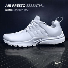 NIB & FREE SHIP! Nike Air Presto Essential White [848187-100] SIZES: 7 to 14 US