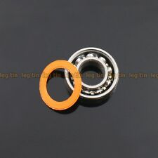 [1 pc] S623c 3x10x4 mm Hybrid Stainless Steel Ceramic Ball Bearing (ABEC 7)