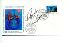 Rhodes Reason Cowboy Western Star Trek King Kong Escapes Signed Autograph FDC