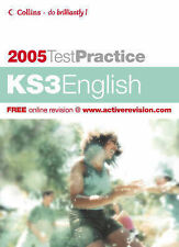COLLINS KEY STAGE 3 ENGLISH TEST PRACTICE & PRACTICE PAPERS SATs KS3 AGE 11-14