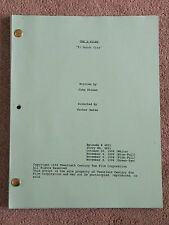 The X-Files Script.  1996 El Mundo Gira.  4th Draft.