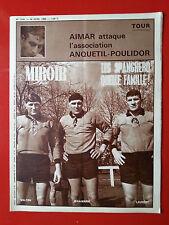 30/04/68 Miroir sprint n°1143 RUGBY LES SPANGHERO CYCLISME AIMAR LIEGE BASTOGNE