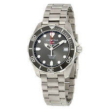 Certina DS Action - 3 Hands Grey Dial Titanium Mens Watch C0324104408100