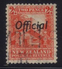 [JSC]1935 New Zealand Maori House Postage & Revenue Official Two Pence