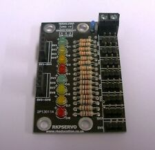 RKPServo Servo Control PCB Self Build Kit for SG90 etc, Arduino & Raspberry PI