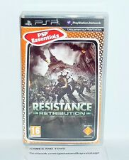 JEU PSP COMPLET ESSENTIALS RESISTANCE RETRIBUTION