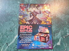 2014 Fall Non Sports Philly Card Show - Epic Battles Promo Card P2 Cryptozoic