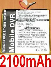 Batterie 2100mAh Pour ARCHOS AV405 Portable Media Player, type 0805NA