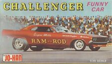 1960s JOHAN Challenger Funny Car RAM ROD model replica fridge magnet - new!