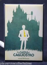 "The Castle of Cagliostro Movie Poster 2"" X 3"" Fridge Magnet. Lupin the Third"