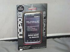 Droid Bionic Cell Phone Case Silicrylic Black New