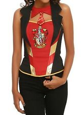 Harry Potter Gryffindor Corset Costume Cosplay Size L/X Gift New With Tags!