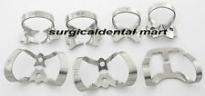 9 Pcs. Endodontic Rubber Dam Clamps Dental Orthodontic Instrument Free Ship