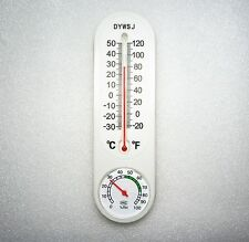 Big Indoor Outdoor Wall Hygrometer Humidity Thermometer Temperature Meter Brand