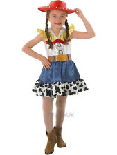 Child 3-4 Years Toy Story Jessie Fancy Dress Costume Book Week Cowgirl Western