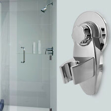 Wall Suction Bath Bathroom Shower Head Holder Bracket DIY Silver