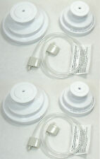 2 FoodSaver Mason Jar Sealer Kits - 2 Hoses 2 Wide & 2 Regular Mouth Adapters