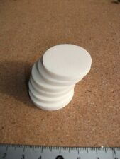 6 @ Bone Spacer  Disc Button Round Blank  30   mm Diameter