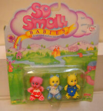 #6299 RARE NIB Vintage Galoob So Small Babies 3 Pack Animals