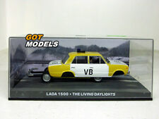 LADA 1500 POLICE - 1/43 SCALE MODEL CAR 007 JAMES BOND THE LIVING DAYLIGHTS