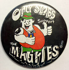 VFL/AFL Collectable Collingwood Magpies *Only Slobs Support* Badge/ Pin