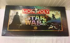 Star Wars Monopoly Classic Trilogy Edition Board Game Parker Brother Complete