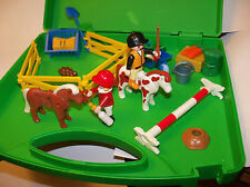 PLAYMOBIL 5983 TAKE ALONG EQUESTRIAN SET - HORSES, RIDERS, ACCESSORIES 28 pcs
