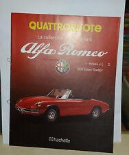 Depliant Brochure ALFA ROMEO 1600 SPIDER DUETTO  La collezione del centenario