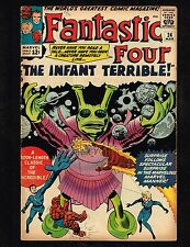 Fantastic Four #24 ~ (5.5) The Infant Terrible ~ 1964  WH
