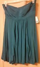 Forever 21 - Strapless Teal Cocktail Dress Size Large  Nwt       B4