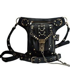 Steampunk Belt Bag Waist leg Hip Holster Purse Pouch Cyberpunk Fanny Packs Women