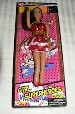 GIRL SUPERHEROES DOLL ( AKA WONDER WOMAN  BARBIE PARODY FIGURE )