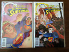 CONVERGENCE THE ADVENTURES OF SUPERMAN COMIC SET # 1 & 2 DC COMICS SUPERGIRL