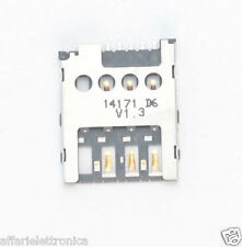 Carrello slot  contatti lettore mini sim scheda madre x Nokia Lumia 530 630 635