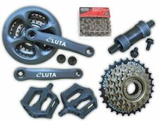 7x3 21 Speed MTB Mountain Bike Drivetrain Crankset Chain Set Freewheel Group Set
