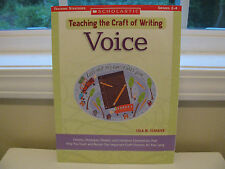 Voice : Lessons, Strategies, Models, and Literature Connections (Paperback)
