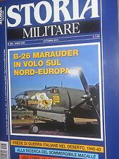 Storia Militare 2015 265 ottobre#B-26 Marauders in volo sul Nord-Europa,jjj