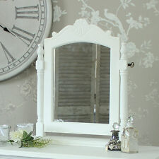 White Dressing Table Swing Mirror shabby french chic ornate bedroom girls room