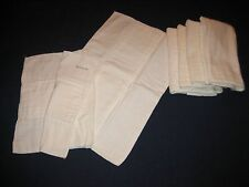 Lot of 6 Vintage Redi-FOL Cotton Cloth Diapers by Chix - Johnson & Johnson