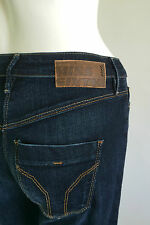 Miss Sixty New Women's Duplex Flare Jeans Size W25 L32 Color Blue Retail 106 £