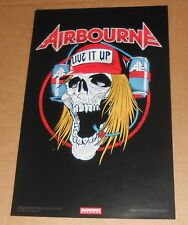 Airbourne Live It Up 2-Sided Tour 2013 Promo Poster 11 x 17 RARE