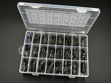 24value Electrolytic Capacitor Assortment Box Kit 500pcs new Radial