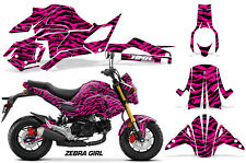 AMR Racing Honda GROM 125 Graphic Kit Bike Decal Motorcycle Parts 2017+ ZEBRA P