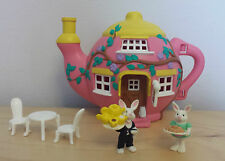 Teeny petites familles vivid imaginations Hippity hop cafe playset complet 1995