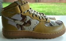 NIKE AIR FORCE 1 MID ID CAMO 3M SIZE 9.5  808788-991